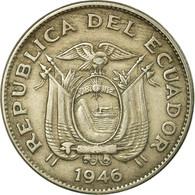Monnaie, Équateur, 20 Centavos, 1946, TTB, Copper-nickel, KM:77.1b - Equateur