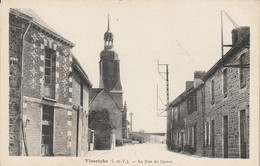 Visseiche La Rue Du Centre - Frankreich
