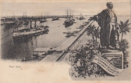 PORT SAID , Egypt , 1890s - Port-Saïd