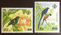 Seychelles 2004 Birds Surcharged MNH - Birds