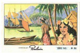 Image Chocolat Poulain Série N° 163 : Oui Oui Oui Oui => Image N° 86 - Musique Chanson HAWAÏ Hubert GIRAUD - Poulain