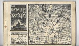Bastogne: Carnet  II De La Bataille Des Ardennes (10 Cartes Différentes) - Bastogne