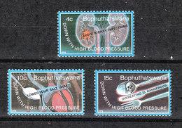 Bophuthatswana  -  1978. Contro L' Ipertensione. Against Hypertension. Complete MNH Series - Malattie