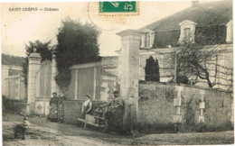 CHARENTE MARITIME 17 .SAINT ST CREPIN CHATEAU - Francia