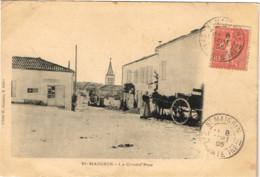 CHARENTE MARITIME 17 .SAINT MAIGRIN LA GRAND RUE - Francia