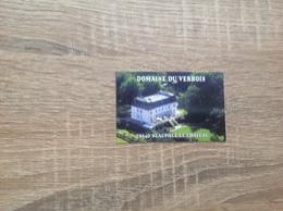 Carte De Visite  Hôtel Restaurant   Domaine Du Verbois    Neauphle Le Chateau   78 - Visiting Cards