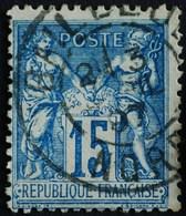 -Sage N°101Type Ll. O ( CAD ) BAILLEUL 3 AVRIL 1897. - 1876-1898 Sage (Type II)