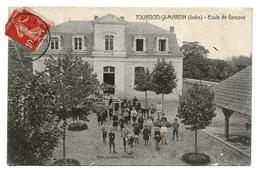 TOURNON-SAINT-MARTIN (Indre) École De Garçons. Sympathique Animation. 1911. Voir Photos Et Lire Description. - Francia