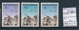 KATANGA COB 79/81 MNH - Katanga