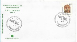 ARGENTINA 1995, MUSHROOMS CONGRESS, SPECIAL POSTMARK VERY FINE - Argentina