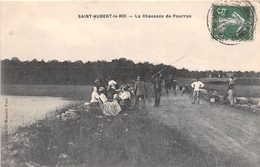 ¤¤  -   SAINT-HUBERT-le-ROI   -  La Chaussée De Pourras  -  Pêcheurs à La Ligne      -  ¤¤ - Les Essarts Le Roi