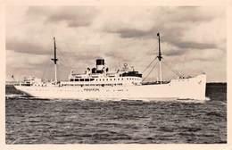 "M.S ""PARKESTON"" ~ AN OLD REAL PHOTO POSTCARD #96715 - Dampfer"