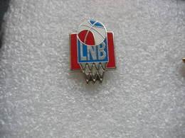 Pin's LNB (Ligue Nationale De Basket) - Basketball