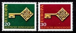 Allemagne 1968 Mi.:nr: 559-560 Europa  Neuf Sans Charniere / Mnh / Postfris - [7] République Fédérale