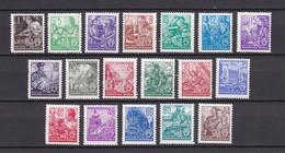 DDR - 1953 - Michel Nr. 362/79 - Postfrisch - 150 Euro - Neufs