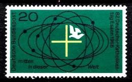 Allemagne 1968 Mi.:nr: 568 Katholikentag  Neuf Sans Charniere / Mnh / Postfris - [7] République Fédérale