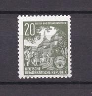 DDR - 1954 - Michel Nr. 413 - Postfrisch - 90 Euro - [6] Democratic Republic