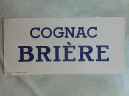 Buvard PUB Cognac Brière - Liqueur & Bière
