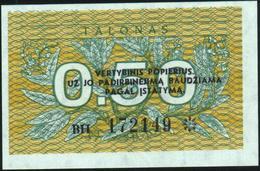 LITHUANIA - 0,50 Talonas 1991 {Lietuvos Respublika} UNC P.31 B - Lithuania