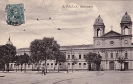 CPA - Brazil / Brésil - Seminario - 1908 - São Paulo