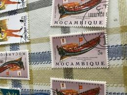 MOZAMBICO ANTICHE NAVI - Francobolli