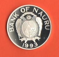 Nauru 10 Dollars 1995 Wildlife Silver Proof - Nauru