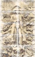 NAPOLEON - Puzzle De 10 CPA  Illustration : Mastroianni (1947 ASO) - Geschichte