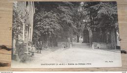 CHATEAUFORT : Entrée Du Chateau D'ors  …... … NW-4238 - France