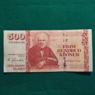 Islanda 500 Kronur 2001 - Islandia