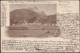 Silvaplana Am Julier-Pass Mit Piz Polaschin, 1904 - Simon Tanner AK - GR Grisons