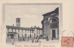 Lombardia - Milano - Seregno - Chiesa Prepositurale - Piazza Unione - Bella Animata - Italia