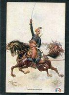 CPA - Illustration Hingre - CHASSEURS D'AFRIQUE - Guerre 1914-18