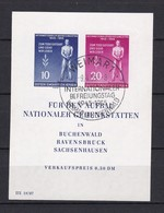 DDR - 1955 - Michel Nr. Block 11 - Gest. - 30 Euro - DDR