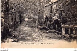PONT-AVEN  Le Moulin Du Plessis   2 Scans - Pont Aven