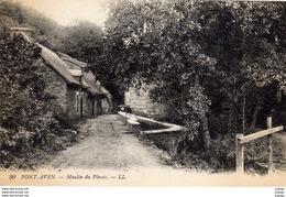 PONT-AVEN Moulin Du Plessis  2 Scans - Pont Aven
