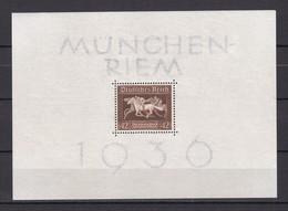Deutsches Reich - 1936 - Michel Nr. Block 4 X - Postfrisch - 32 Euro - Allemagne