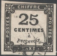 France Yvert Taxe 5A T.II Oblit. TB Sans Défaut Cote EUR 100 (numéro Du Lot 603 AA) - Taxes
