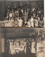 2 CARTE PHOTO:LOUHANS  (71) GROUPE DE JEUNES PERSONNES EN COSTUME SPECTACLE - Louhans