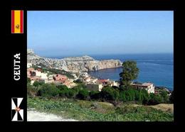 Ceuta View To Perejil Island North Africa New Postcard - Ceuta