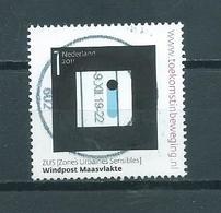 2011 Netherlands Windpost Maasvlakte Used/gebruikt/oblitere - Period 1980-... (Beatrix)