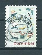 2019 Netherlands Christmas,kerst,noël,weihnachten,December Tarief Used/gebruikt/oblitere - Period 2013-... (Willem-Alexander)