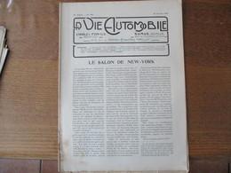 LA VIE AUTOMOBILE DU 25 FEVRIER 1920 LA 14 HP TH. SCHNEIDER, LES ACCESSOIRES AU SALON DE NEW-YORK.......... - Auto