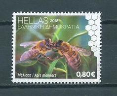 2018 Greece Bee,bij Used/gebruikt/oblitere - Oblitérés