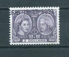 2012 Canada 2 Dollars,Queen Elisabeth Used/gebruikt/oblitere - Oblitérés