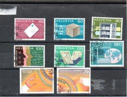 UPU Union Postale Universelle N° 10- 11- 12- 13- 14- 16- 17- 18 Oblitérés - Service