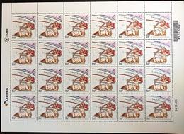 Brazil Stamp Selo Signos Do Zodíaco Sagitário Sagittarius Zodiac Signs 2019 Folha - Brazilië