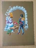 KOV 8-156 - NEW YEAR, Bonne Annee, Ramoneur, Chimney Sweep, Champignon, Mushroom, Snowman, Trefle - Anno Nuovo