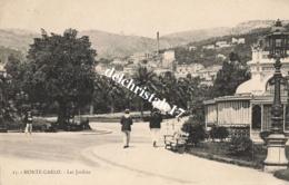 CPA - MONACO - MONTE CARLO - LES JARDINS N°15 - Monte-Carlo