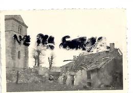 08 CHEMERY  1940 DETRUCTIONS   SOLDATS ALLEMANDS - Autres Communes