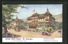 AK Interlaken, Grand Hotel Royal - St. Georges, Promenade Principale - BE Berne